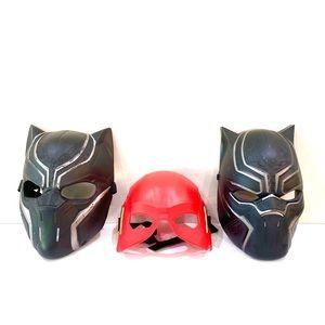 Action Figures Masks (Set of 3)